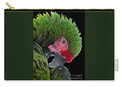 Pensive Parrot Carry-all Pouch