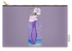 Phyl's Roses Carry-all Pouch by Phyllis Kaltenbach