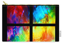 Physical Graffiti 1 Series Layout Carry-all Pouch by Dazzle Zazz