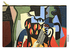 Picasso's Harlequin Musician Carry-all Pouch