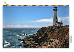 Pigeon Point Lighthouse Carry-all Pouch by Judy Vincent