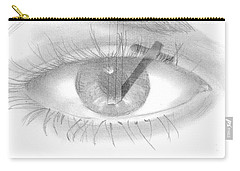 Plank In Eye Carry-all Pouch by Terry Frederick