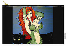 Poison Ivy  Cartoon Carry-all Pouch