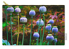Poppy Seed Pods Carry-all Pouch