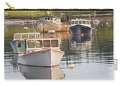 Port Clyde Maine Boats And Harbor Carry-all Pouch