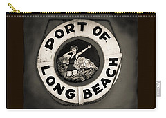 Port Of Long Beach Life Saver Vin By Denise Dube Carry-all Pouch