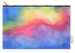 Carry-all Pouch featuring the painting Power Of Nature  by Chrisann Ellis