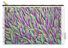 Purple And Green Carry-all Pouch by Holly Kempe