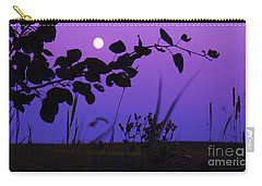 Purple Moon Carry-all Pouch