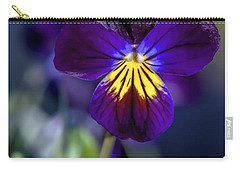 Purple Viola Carry-all Pouch