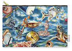 Carry-all Pouch featuring the painting Recipe Of Ocean by Hiroko Sakai