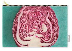 Red Cabbage Carry-all Pouch by Tom Gowanlock