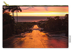Sunset After Rain Carry-all Pouch by Denise Bird
