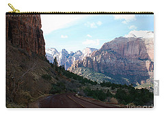 Road Through Zion National Park Carry-all Pouch