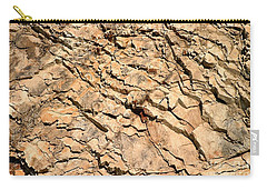 Carry-all Pouch featuring the photograph Rock Wall by Henrik Lehnerer