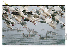 Ross's Goose Carry-all Pouch by Doug Herr