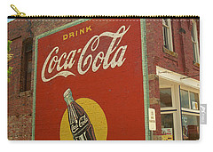 Route 66 - Coca Cola Ghost Mural Carry-all Pouch by Frank Romeo