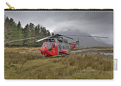 Royal Navy Sar Sea King Xz920 Glencoe Carry-all Pouch