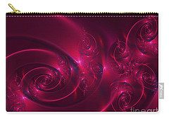 Ruby Red Carry-all Pouch by Lena Auxier