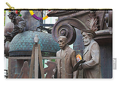 Russian Super-artist Sculptures, Zurab Carry-all Pouch by Panoramic Images