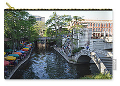 Sa River Walk 2 Carry-all Pouch by Shawn Marlow