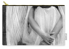 Sad Angel Woman Carry-all Pouch