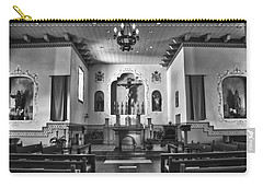 Carry-all Pouch featuring the photograph San Carlos Cathedral by Ron White