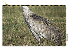 Sandhill Crane Carry-all Pouch by Fran Gallogly