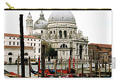 Santa Maria Della Salute Carry-all Pouch by Ira Shander