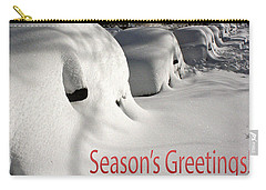 Season's Greetings Carry-all Pouch by Stuart Litoff