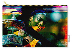 Serena Williams Carry-all Pouch by Marvin Blaine