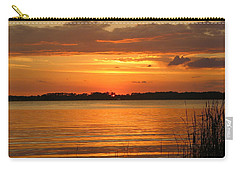 Setting Sun In Mount Dora Carry-all Pouch