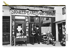 Shakespeare And Company Bookstore In Paris France Carry-all Pouch