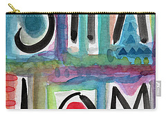 Shalom Carry-all Pouch by Linda Woods