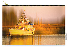 Ship At Dusk  Carry-all Pouch