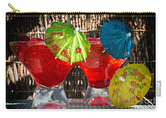 Shirley Temple Cocktail Carry-all Pouch by Iris Richardson