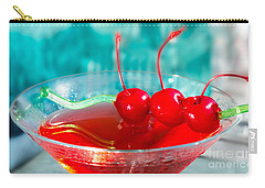 Shirley Temple Drink Carry-all Pouch by Iris Richardson