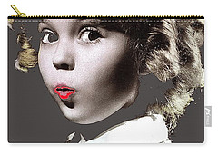 Shirley Temple Publicity Photo Circa 1935-2014 Carry-all Pouch by David Lee Guss