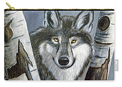 Silent Watcher Carry-all Pouch by Kenny Francis