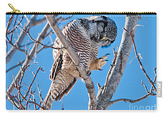 Smiling And Waving Carry-all Pouch by Cheryl Baxter