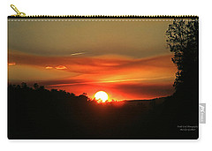Smokin' Payson Sunset Carry-all Pouch