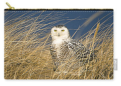 Snowy Owl In The Dunes Carry-all Pouch