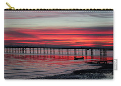 Southend Pier Sunset Carry-all Pouch