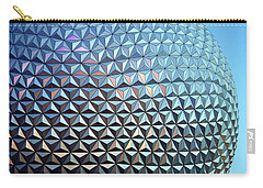 Carry-all Pouch featuring the photograph Spaceship Earth by Cora Wandel