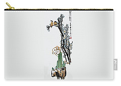 Carry-all Pouch featuring the photograph Spring Melody by Yufeng Wang