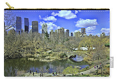 Springtime In Central Park Carry-all Pouch