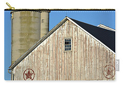 Stars In Circles Barn Carry-all Pouch