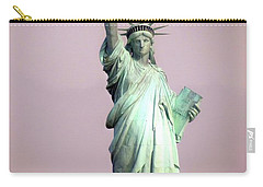 Statue Of Liberty Carry-all Pouch by Ed Weidman