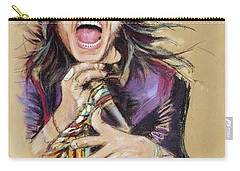 Steven Tyler  Carry-all Pouch by Melanie D