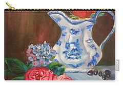Still Life With Blue And White Pitcher Carry-all Pouch